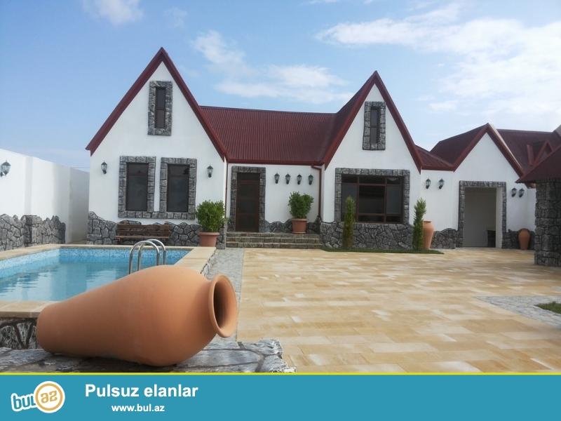 Для солидных клиентов! Продается 2-х  этажная дача в поселке Шувалан Гресс, недалеко от моря, в охраняемом городке,  расположенная на 7,5-и сотки земли...