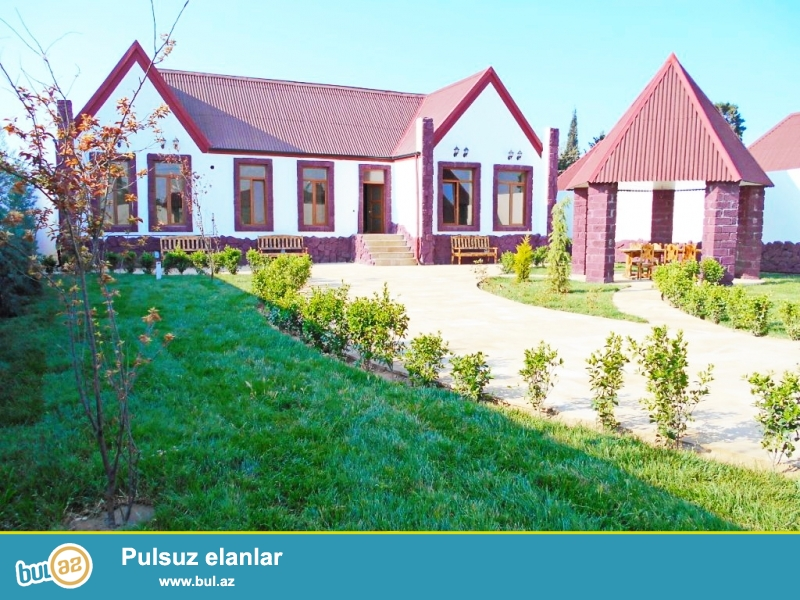 **РУФАТ*АЙНУР** Впервые на рынке, продается новопостроенная 1но этажная дача-дом, расположенная на 6 сотах приватизированной земли, 1 зал, 3 спальни, 2 с у, 170 кв...