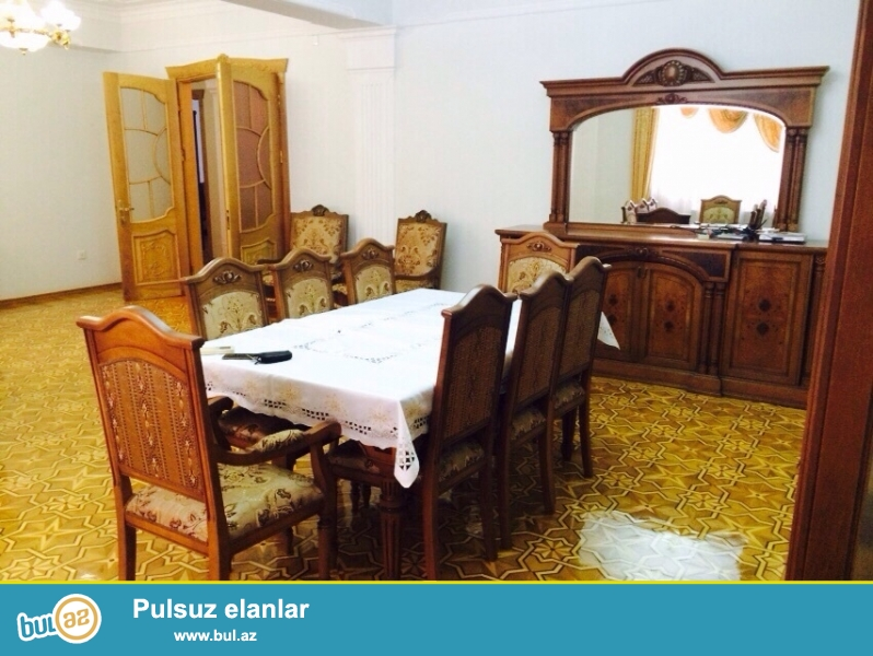 Nerimanovda Cemenzeminli kuc -de 12  \10 cu  mertebesinde 4 otagli  supper  temirli supper esyali  ev 265...
