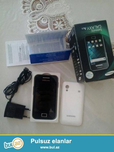 Samsung Galayx Ace gt-5830i<br /> Telefonun hec bir problemi yoxdur...