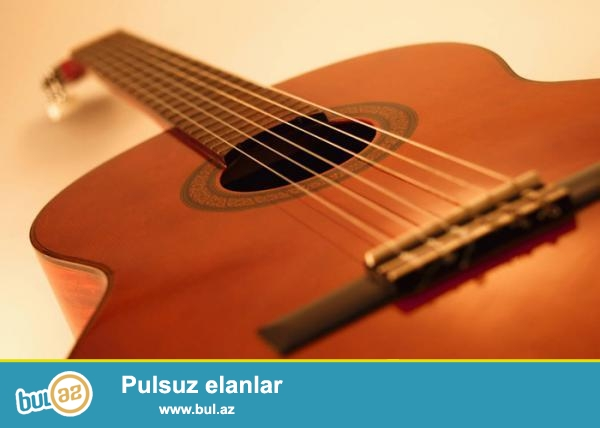 Gitara Satıram, Heç İşlənməyib. Təp Təzədir...
