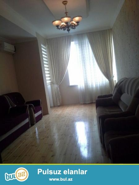 Очень срочно! Около м/с Хатаи  ,продается  3-х комнатная квартира нового строения  3/16 , с супер ремонтом , общей площадью 125 квадрат...
