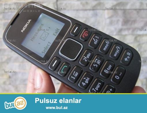 Nokia 1280 20 manat satilir.Ekran isigi yanmir.Basqa hec bir problemi yoxdur...