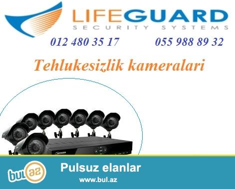 Tehlukesizlik kameralari. <br /> <br /> LifeGuard sirketi tehlukesizlik kameralari (Ip kamera, zoomlu kamera, box kamera, speed dome kamera, dome kamera, pin hole kamera, IR kamera, col kamera ve s...