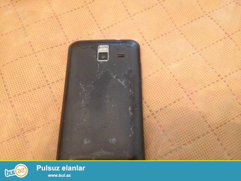 Samsung smartfonu wawe m orginaldi arxasi acilmiyib   world telekomdan alinib az islenib qutusunda qalib aylarnan <br /> <br /> telefonun 10azn arasi xerci var ciddi birsey deyil proqram yazilmalidi 1gun  usdada qalib yandiranda ekran menyusu acilib qayidib sonur proqrami pozulub sadece basqa bir problem yoxdu islemeyinde  karopka adapter usdunde <br /> <br /> Qiymeti sondu 40azn  <br /> <br /> Processor  Android ...