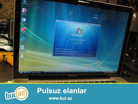 Apple kompyuter ve noutbuklarina Windows 8, Windows 10, Windows 7 ve bashqa Sistemlerin yazilmasi...