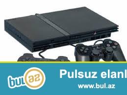 Playstation 2 satilir. Yaxsi veziyyetdedir.Ustunde yaddas karti ve 2 pult verilir...