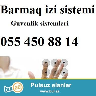 Barmaq izi (finger print), kartla kecid (card reader), uz tanima sistemi (face control). Access control...