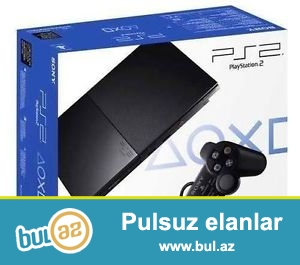 PlayStation 2 satiram ... 5 aydi alinib... hec bir problemi yoxdu...
