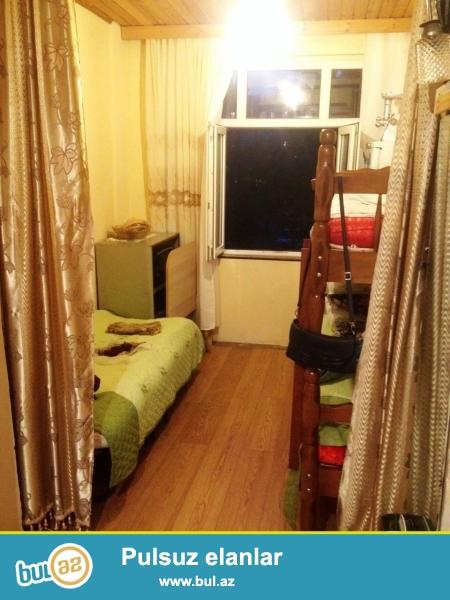 """Продается 1 комнатная квартира переделанная в 2-х в Бинагадинском районе, рядом с торговым центром """"Элит""""..."""