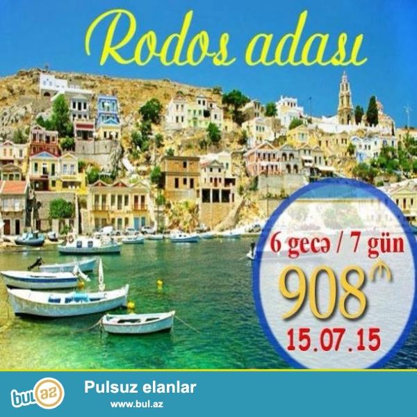 YUNANISTAN ! RODOS ADASI ! <br /> #Yunanistan #Rodos #Afn_Travel #Tur <br /> FÜRSƏTI QAÇIRMAYIN!! PEFKOS GARDEN *** 908 AZN <br /> Tarix : 15...