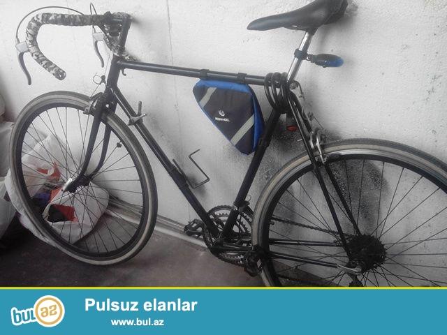 Turist velosipedi satiram-XVZ.ela veziyyetdedir...teze renglenib...