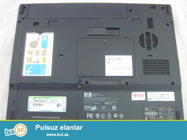 HP NX 6110 NOUTBOOK ELA VEZIYYETDEDI TANK KIMI isleyir