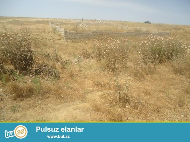 ZƏFƏR Abşeron rayonu, Məhəmmədi qəsəbəsi yaşayış massivindən 200 metr məsafədə 3 sot torpaq sahəsi satılır...