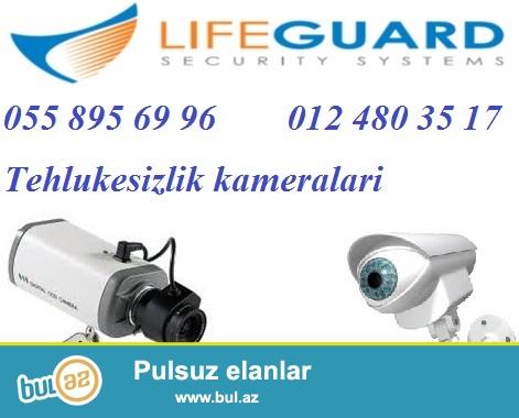 Tehlukesizlik kameralari ve sistemleri.<br /> <br /> LifeGuard sirketi Size binalarin, emlakinizin, yaxinlarinizin tehlukesizliyini temin etmek ucun genis cesidde professional video-nezaret sistemlerini teklif edir...