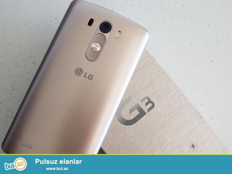 LG g3 beat gold ela veziyyetde qutusu da var 2 nomrelidi