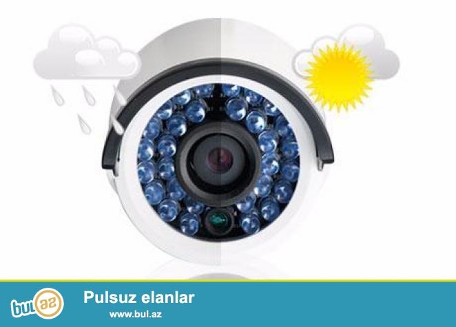 WI-FI HD İP CAMERA kameraları ilə Siz obyektlərinizə tam nəzarət edə biləcəksiniz...
