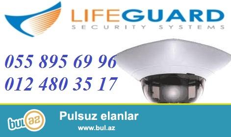 Dome kameralar / tehlukesizlik-nezaret kameralari. <br /> <br /> LifeGuard tehlukesizlik sirketi Size Dome tipli kameralari teklif edir...