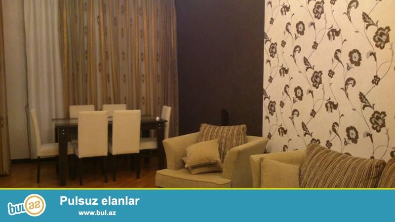 Ясамальский район, около «Caspian Plaza» в полностью заселенной новостройке сдаётся 2-х комнатная квартира...