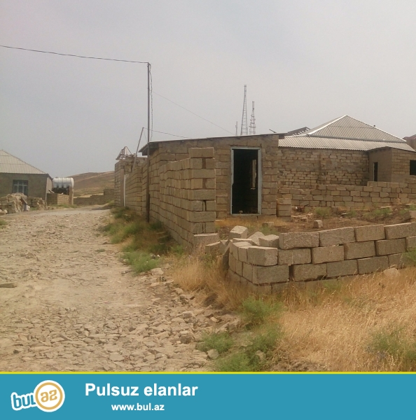 torpaq sahəsi hökməli kəndin üstündə yeni məhəllədə yerləşir...