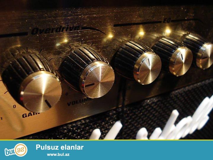 Fender Marshall VoX NuX Ibanez kimi tanish konbik anfi elektro gitara ucun kalonkalar...