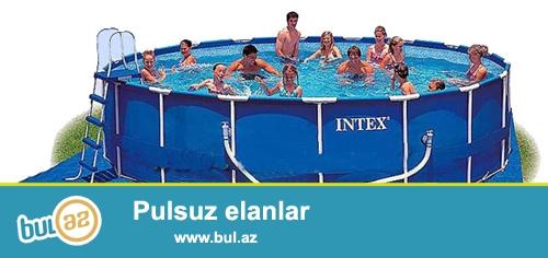 Каркасные бассейны Intex серии Metal frame Pool созданы, <br /> чтобы максимально удовлетворять требованиям потребителей...