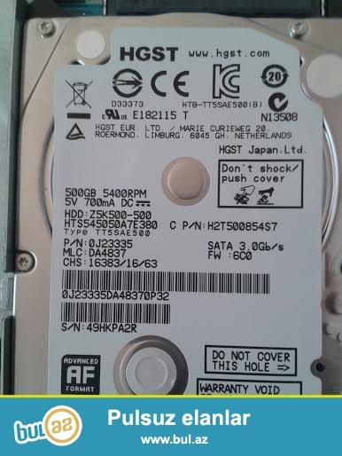 işlənmiş 500 GB HDD satılır.35 AZN