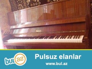 3 pedalli,qehveyi-palirofkali weinbach piano.