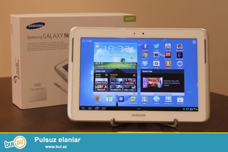 Samsung Galaxy Note 10.1 satılır. Əla vəziyyətdədi, heç bir problemi yoxdur...