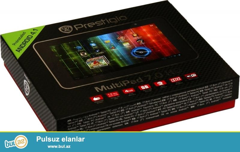 Prestigio  Multi  Pad  7.0  Ultra+ tablet satıram,  təzədir...