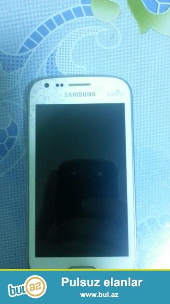 Samsung galaxy 7562 ela veziyyetdedi ,seliqeli isdenib ,hec bir prablemi yoxdu Telefon  plyonkada  kabroda islenib  ,cizigi yoxdu ...