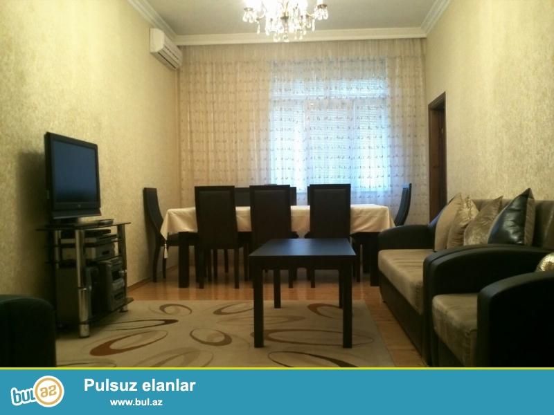 Новостройка! Квартира продается со всей мебелью! Продается 3-х комнатная квартира в Хатаинском районе, рядом с метро Хази Асланова ...