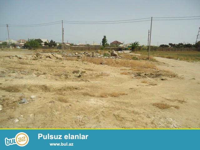 İNQİLAB Suraxanı rayonu Ramana qəsəbəsi, uşaq kaloniyasının arxasında,marşrut yolundan  150 metr məsafədə 24 sot torpaq sahəsi satılır...