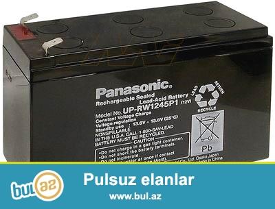 10 eded UPS Akumlyatoru Panasonic satiram.tezedir istifade edilmeyib...