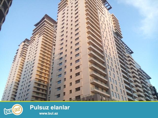 Сабаильский район, в элитном комплексе «Port Baku» сдаётся 3-х комнатная квартира...