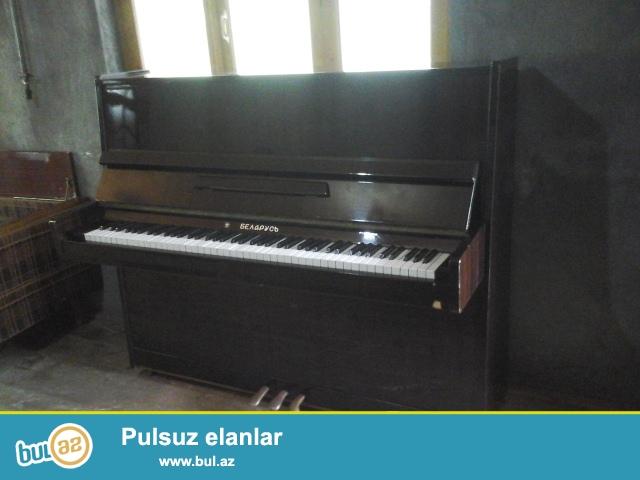 Təcili satılır əla vəziyəttə pianinio belarus
