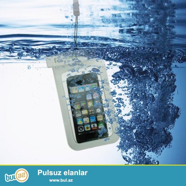 Waterproof case <br /> butun telefonlar ucun<br /> 100% su kecirmir<br /> Suyun altinda super cekilisler ede bilersiniz...