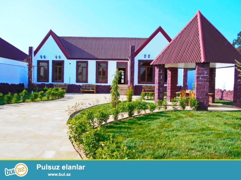**РУФАТ*АЙНУР**    Впервые   на   рынке, продается   новопостроенная   1-но   этажная дача-дом,   расположенная  на   6   сотах приватизированной   земли,   1 зал,   3   спальни,  2 с/у,   170   кв...