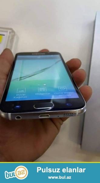 Samsung S6 satiram ve ya BArter <br /> Orginaldan kamera ferqlidi <br /> koreyanin ORginalidi...
