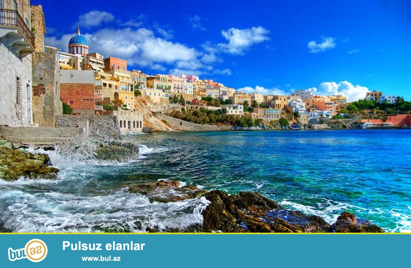 Rodos adası , Yunanıstana bağlı olan 12 adadan ən böyüyüdür ...