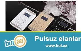 Sizleri aiek m7 markali kredit karti olcusunde olan ultra nazik telefonunu teklif edirem...