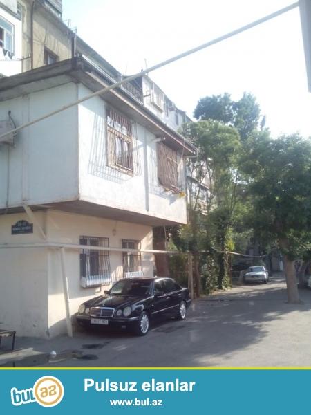 Продается 1-а комнатная квартира переделанная в 2-х комнатную, по улице Шарифзаде, недалеко от ресторан Кактус, проект хрущевка, каменный дом, 3/5, средний ремонт, деревянные полы, с/у совмещен, чистый блок...