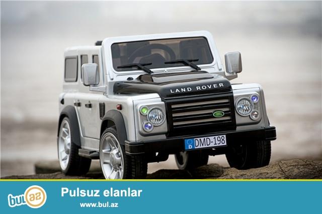 Детский Джип внедорожник Land Rover DMD-198 лучшая новинка 2015 года <br /> Характеристика электромобиль Land Rover DMD-198:<br /> <br /> Одноместный (двухсекционное сидение Эко-кожа)<br /> <br /> Рекомендованный возраст до 8 лет<br /> <br /> Рекомендованная нагрузка до 45кг...