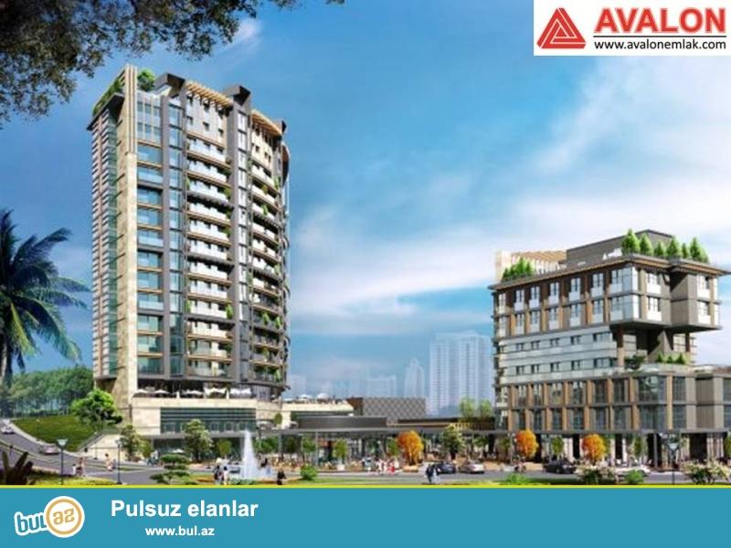 Yaşayış kompleksi İstanbulun mərkəzində yerləşir...