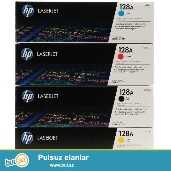 новые оригинальные  картриджи Hp Color Laser Jet 128a (ce310...