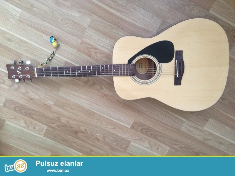 Model: YAMAHA F310P<br /> Original acoustic guitar<br /> Gitara yoxlanılır ve sonra tehvil verilir<br /> Heç bir problemi yoxdur<br /> Kapo, tuner, case ve...