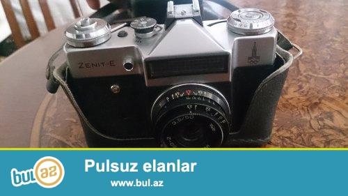 Tecili . Zenit Antik  Fotoaparati satiram tezedir hec ishledilmeyib . Qiytmet 90 manat
