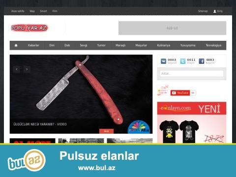 www.POPULYAR.az domen və sayt satılır ustundə 300 gb reseller veriləcək...