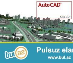 Kursumuzda Autocad yüksək peşəkar memar tərəfindən aparılır...