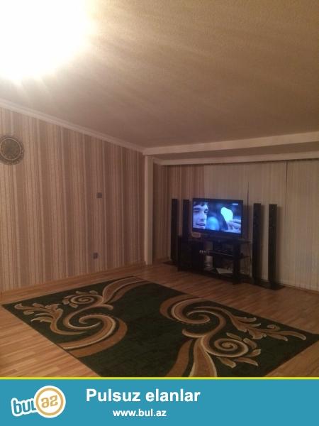 Очень срочно!!!В 10-ти минутах пешком от метро Иншаатчылар в полностью заселённой новостройке  продаётся 2-х комнатная квартира (мансарда) 12/12,площадью 100 кв...